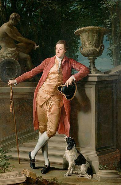 Ritratto di John Talbot 1773